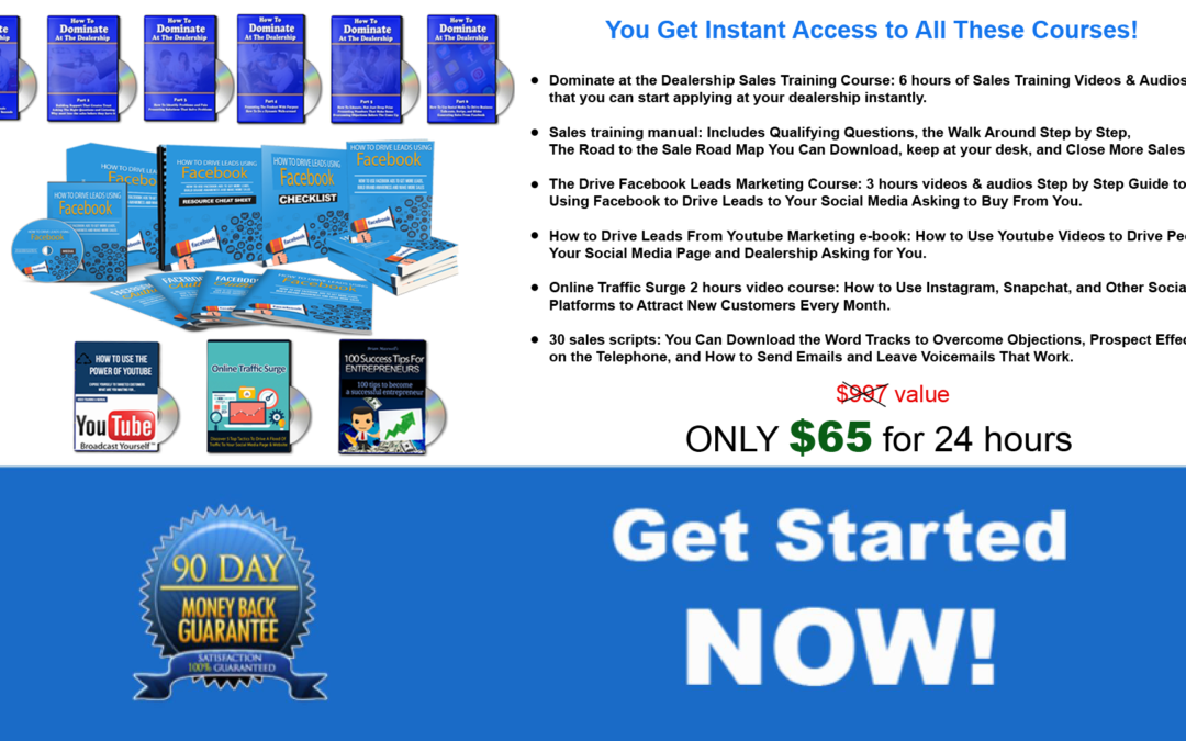 How to Hit Your Sales Numbers Every Month – 24 Hour Special